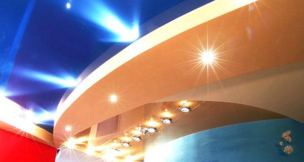 Фотография натяжных потолков