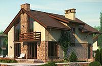 Фотография двухскатной крыши